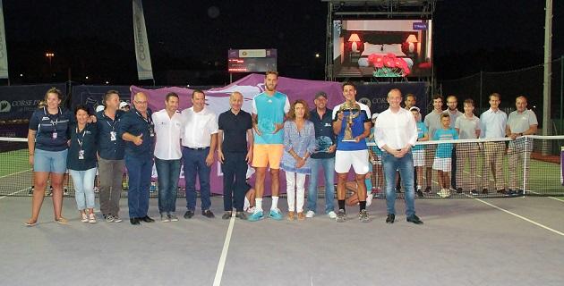 Open de Tennis dAjaccio : Eremin surclasse Olivetti