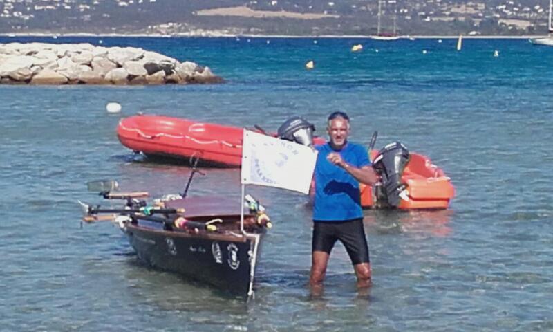 Tour de Corse à la rame: Patrick Boni est arrivé à Calvi