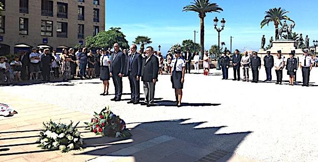 Ajaccio : Hommage aux victimes des crimes racistes et antisémites et aux Justes de France