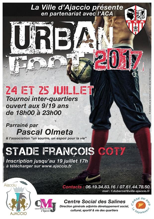 """""""L'Urban foot"""" revient à Ajaccio les 24 et 25 Juillet"""