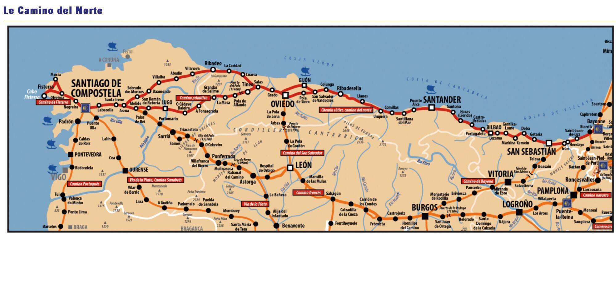 Claude Leonardi et Dominique Rovinalti : Déjà plus 1000 km sur le chemin de Saint-Jacques de Compostelle