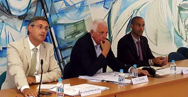 Saveriu Luciani, conseiller exécutif et président de l'Office d'équipement hydraulique de la Corse (OEHC), lors du Conseil d'administration.