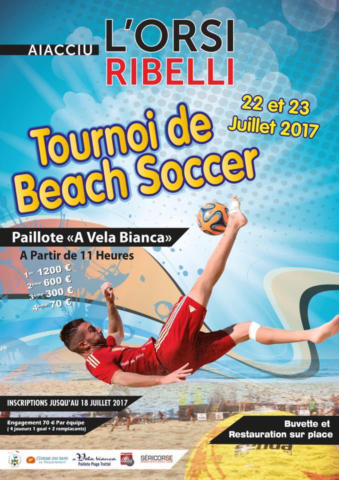 Tournoi de l'Orsi Ribelli : 40 équipes sur la plage du Trottel