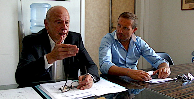 Les bâtonniers Dominique Mattei et Jean-Sébastien De Casalta