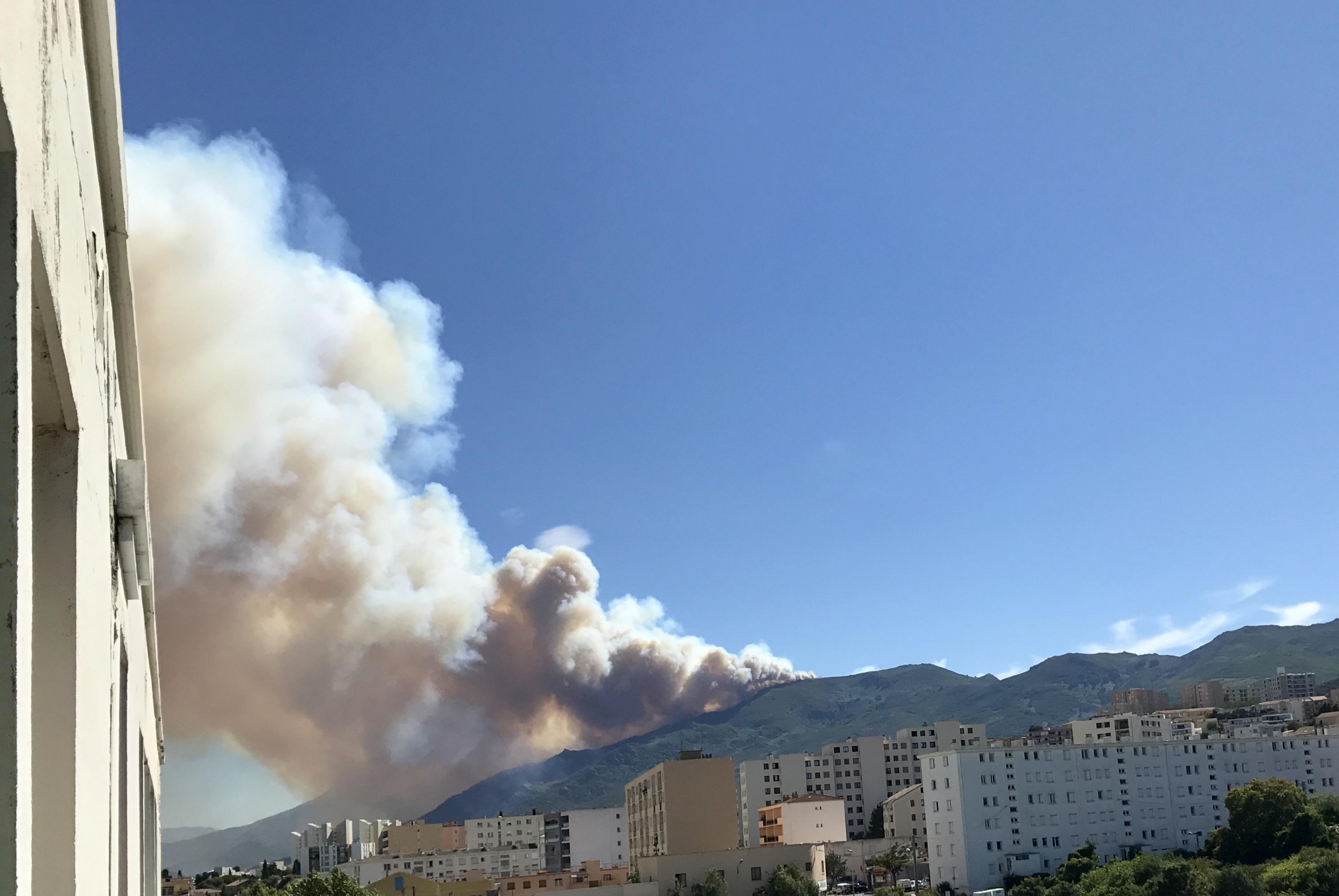 Incendies en Haute-Corse : Près d'une centaine d'hectares détruits