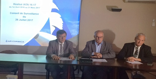 Air Corsica 2016/2017: La bonne année avec un coefficient de remplissage de 70%