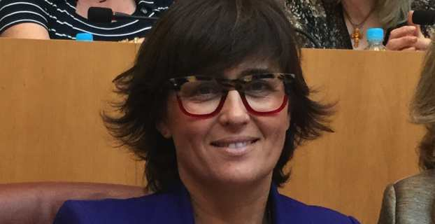 Christelle Combette, conseillère territoriale du groupe Le Rassemblement.