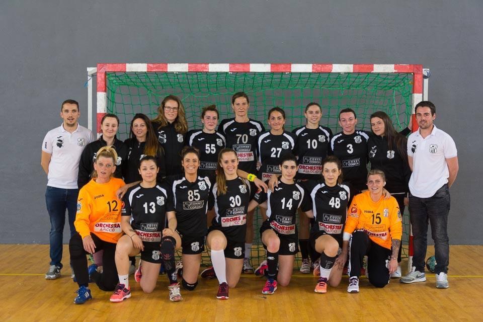 L'équipe Senior Féminine du HAC