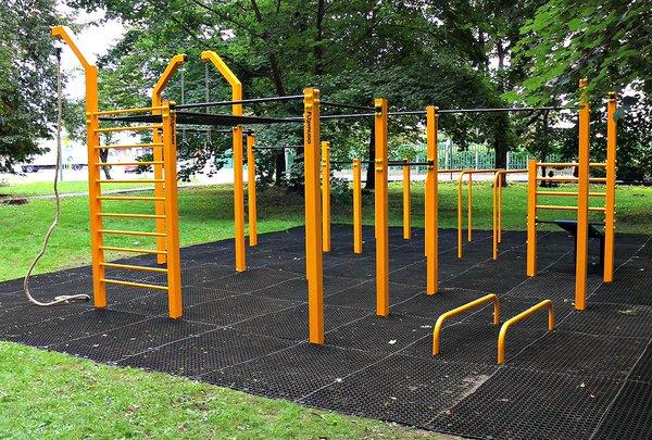 Exemple de parc de street workout