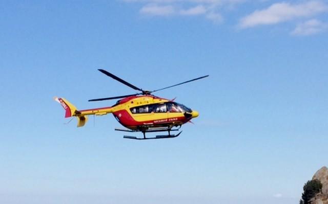 Haute-Corse : Blessé, un randonneur évacué à Albertacce par hélicoptère