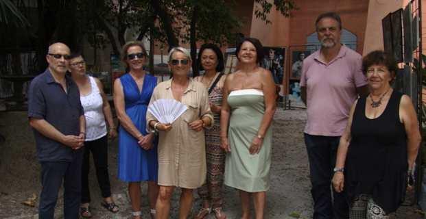 Bastia : CYAN'ART s'expose... dans la rue et les jardins