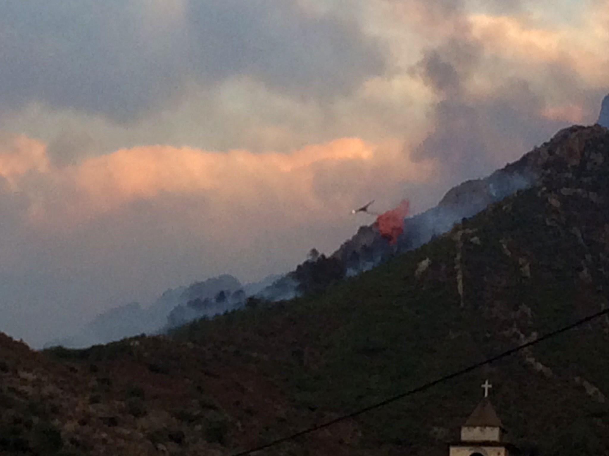 Feu de  Mansu-Barghjana : Une colonne de pompiers du continent attendue en renfort