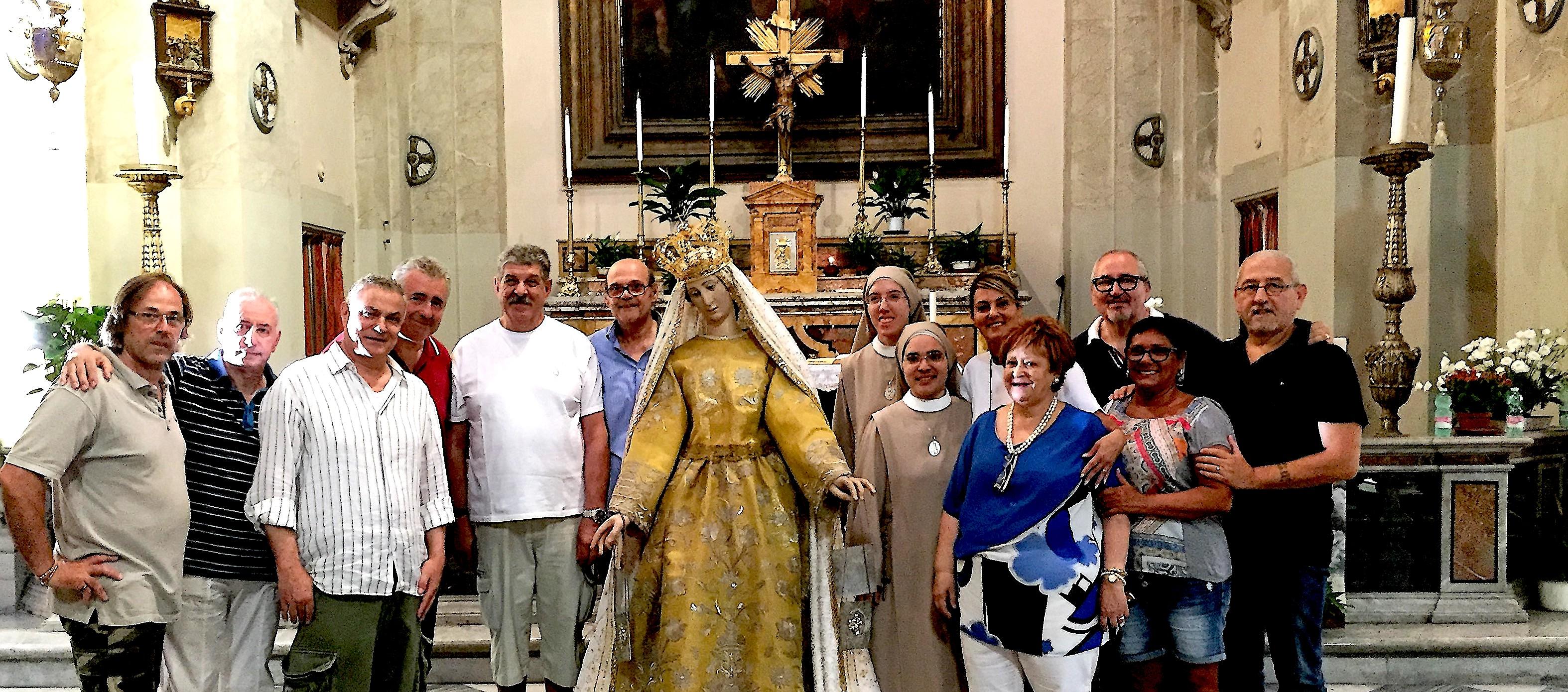 Rome : L'asociu di a Guardia Corsa papale aux festivités de Noantri et à  la procession di a Madonna Fiumarola