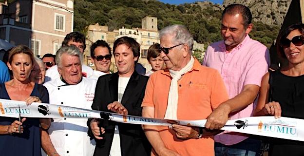 Thomas Dutronc a inauguré la 3ème Fiera di u pane à Lumiu