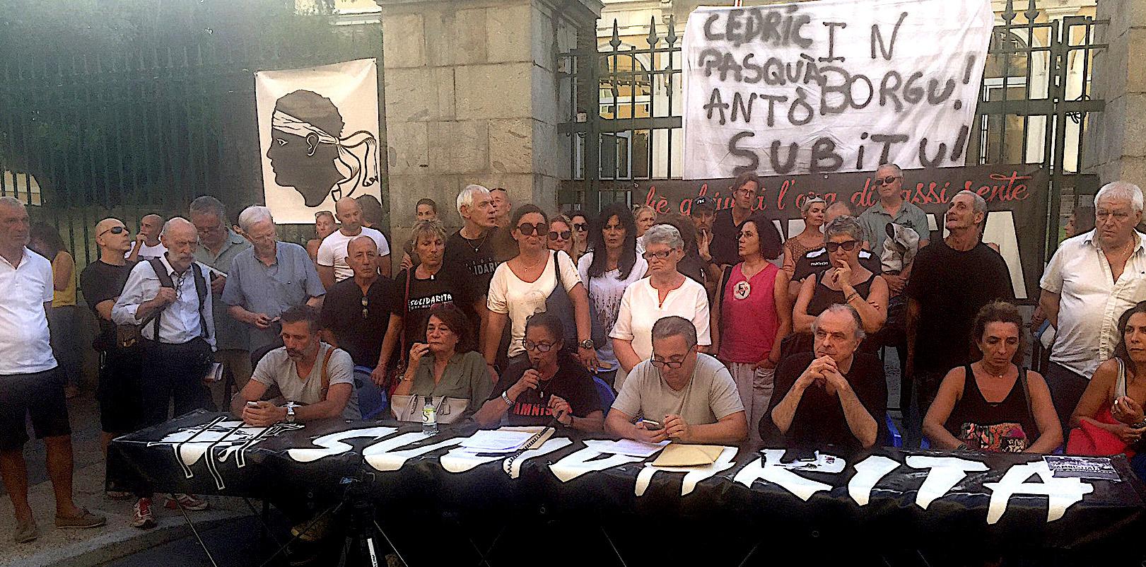 Associu Sulidarità dans la rue à Ajaccio : Des promesses, que des promesses