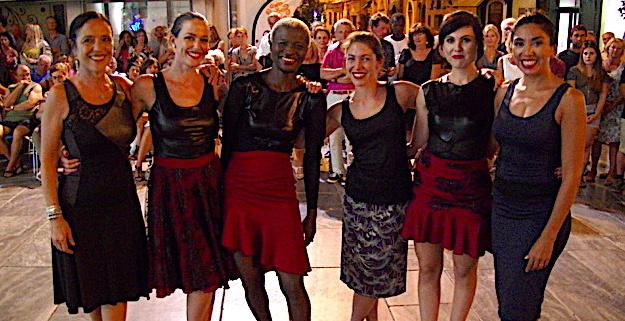 Un délicieux moment avec Anima Tango et les mannequins de Laura-Stella Santini