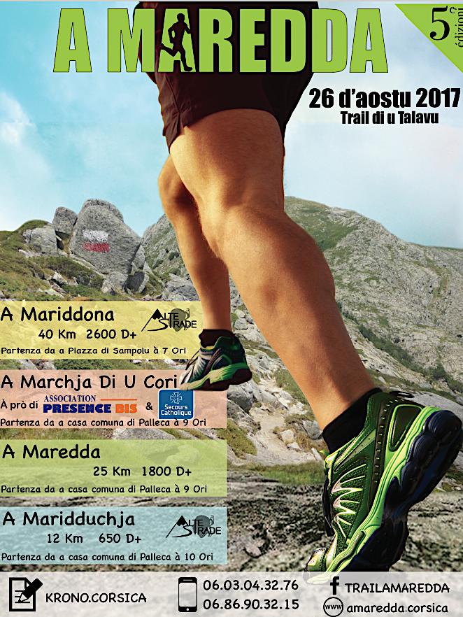 A Maredda, trail di u Talavu…