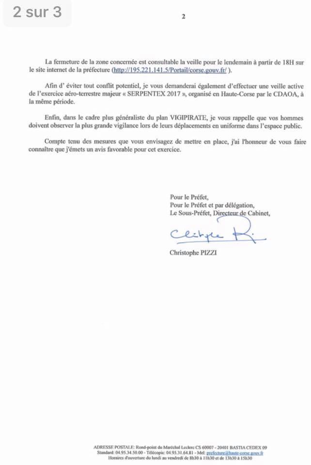 Risque Incendie : Un entrainement militaire prévu à la mi-septembre inquiète Gilles Simeoni