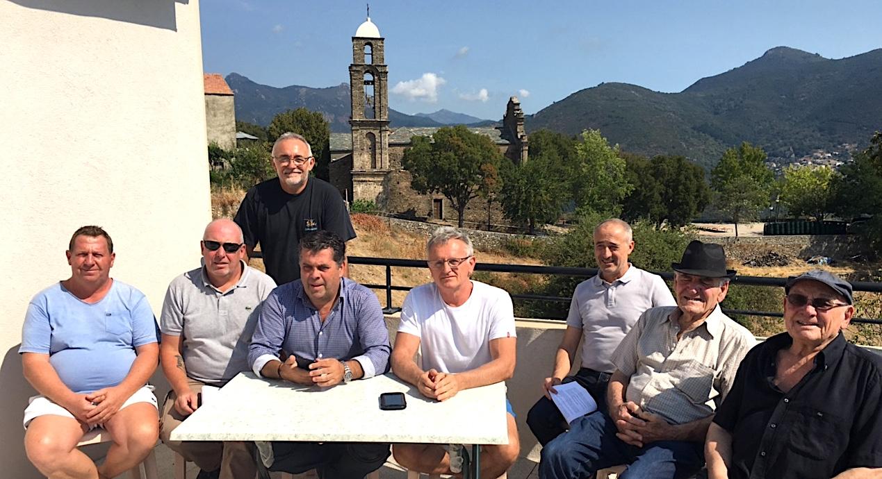 Le conseil municipal, rassemblé autour de Christian Orsucci, s'oppose à l'ouverture de Tallone 3