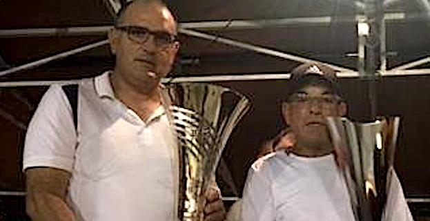 Pierre et Jean-Do Fieschi vainqueurs  du Grand Concours promotionnel de la pétanque Challenge Antoine Giacomi