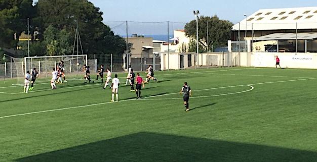 Furiani avait ouvert le score dès la 6ème minute par Feliciano