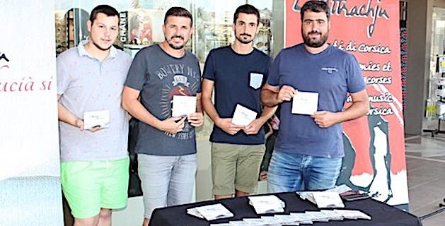 Le groupe l'Attrachju a présenté son dernier album à Calvi