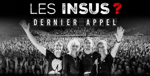 Concert des INSUS au Casone le 1er septembre  : Le compte à rebours a débuté!