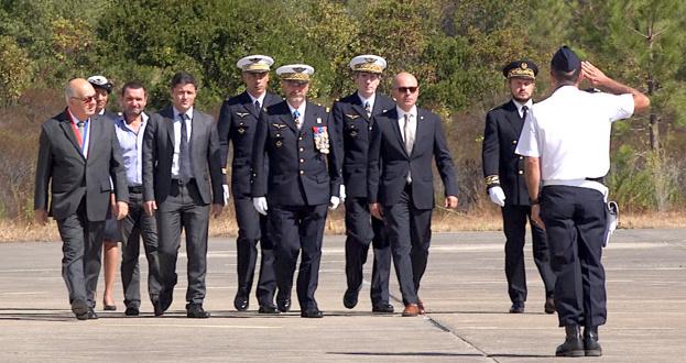 """Le colonel Cyril Meunier, nouveau commandant de la BA 126 """"Capitaine Preziosi"""""""