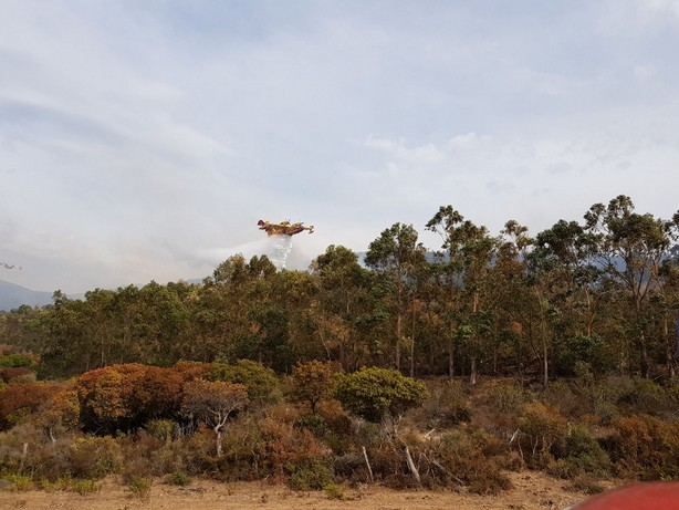 Calenzana : Un nouveau feu à l'Argentella
