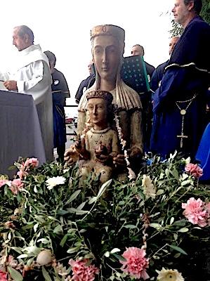 A celebrazione di l'anniversariu di a nascita di Maria Vergine in Corsica