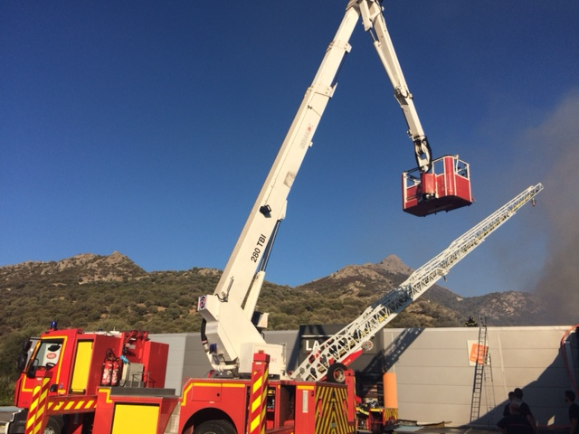 Le Gifi de Corbara détruit par les flammes