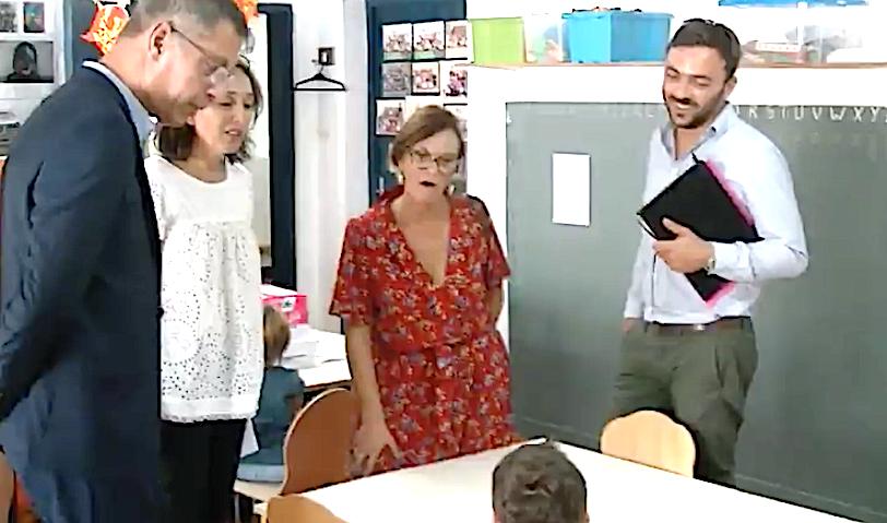 De l'école Desanti à l'école Reynoard : La rentrée scolaire de Pierre Savelli