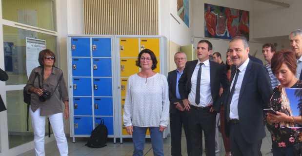 Cap Corse : La rentrée scolaire au collège de Luri sous l'œil attentif du Conseil Exécutif