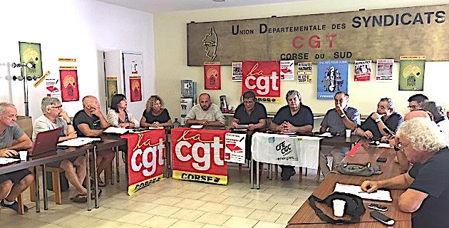 Loi Travail, CSG et aide au logement :  Les salariés dans la rue le 12 septembre à Ajaccio