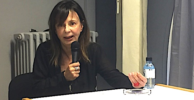 Invitée de la bibliothèque centrale mardi, l'auteure grecque Ersi Sotiropoulos