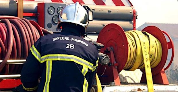 Aghjone : La déchetterie en feu