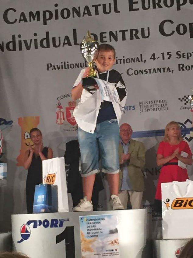 Echecs : Marc'Andria Maurizzi Champion d'Europe !