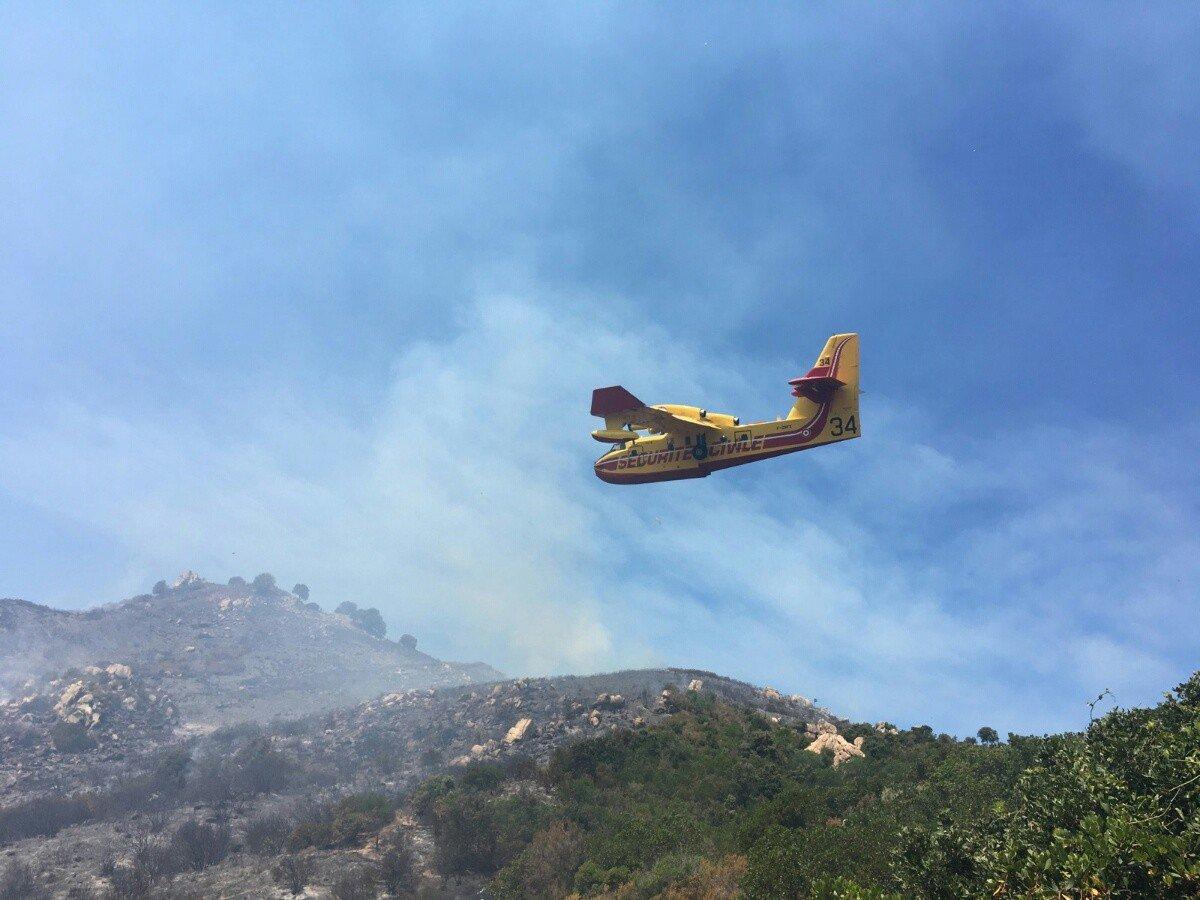 Bonifacio : Deux nouveaux départs de feux