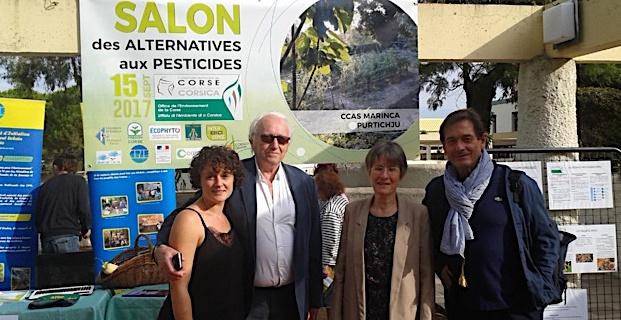 Porticcio: Un premier salon des alternatives aux pesticides