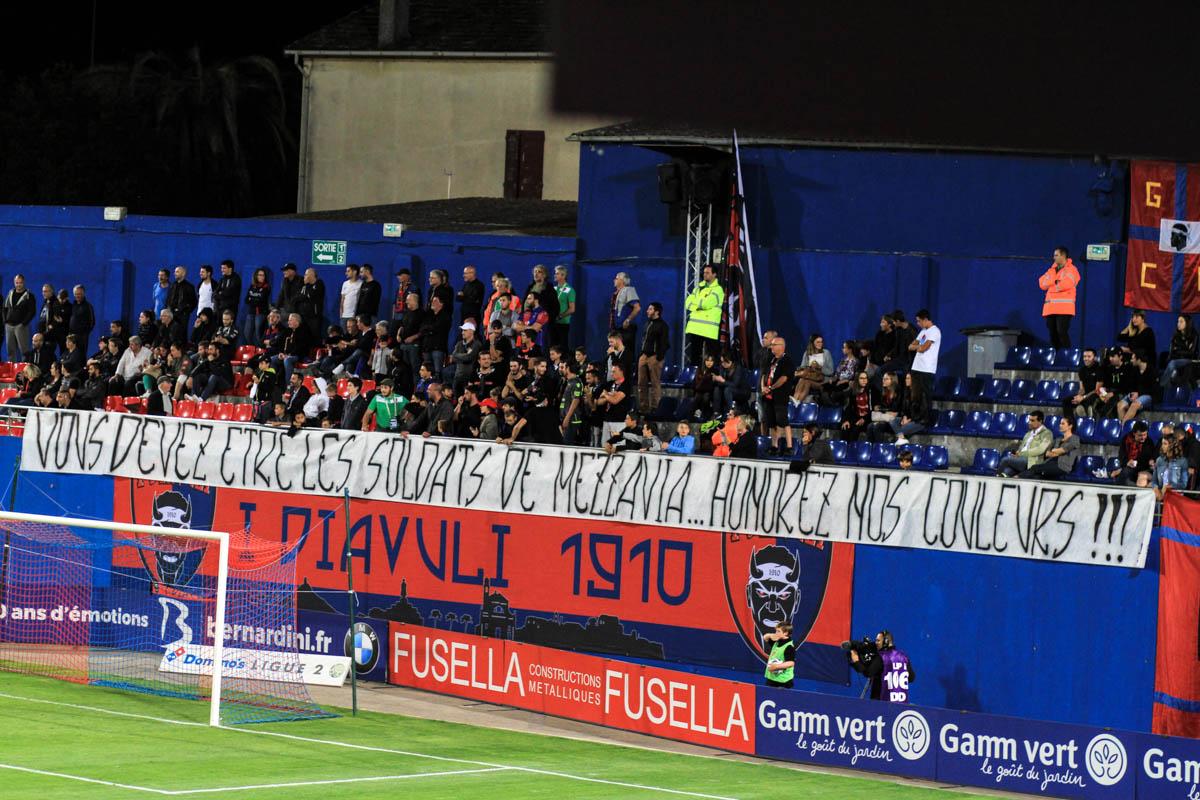 L'œil du technicien - GFCA-Clermont : Le match vu par Baptiste Gentili