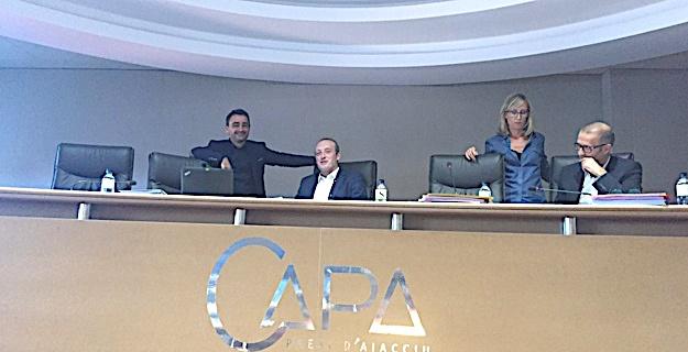 CAPA: La bonne santé du budget et l'adhésion au Grand Site des Sanguinaires