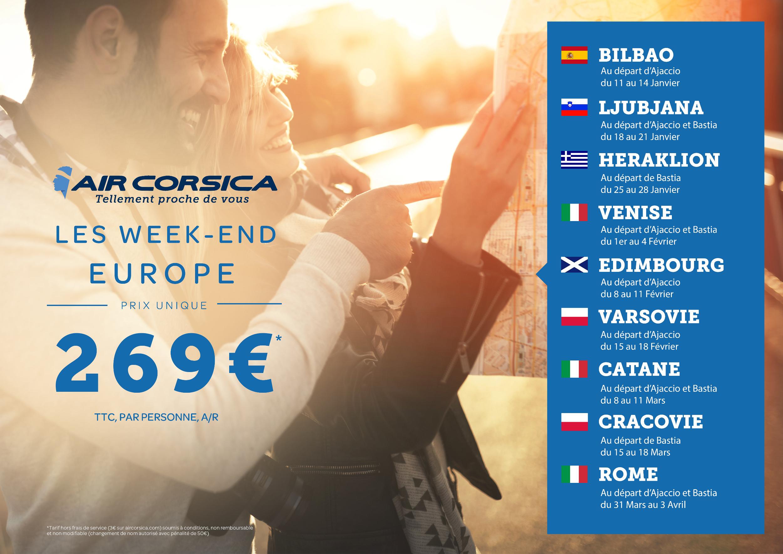 Air Corsica : Europe nous voilà !