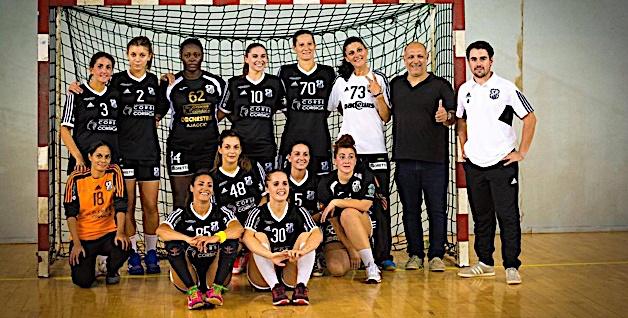 Handball-N3F : Premier succès pour le HAC à à Ajaccio