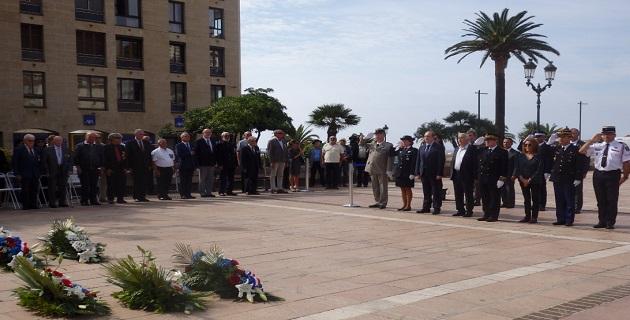 """Ajaccio s'est associé à la  """"journée nationale d'hommage aux harkis"""""""