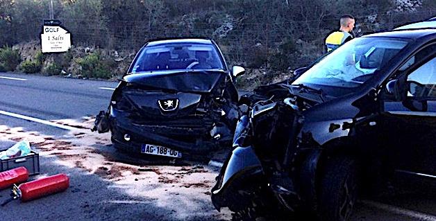 """Collision sur """"A Balanina"""": une passagère blessée"""