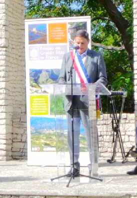 José Poggioli, maire de Patrimoniu.