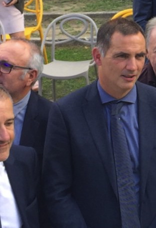 Gilles Simeoni, président de l'Exécutif de Corse.