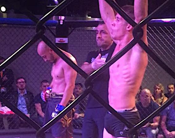 Francky Le Bouyonnec a remporté son « Super Fight » contre Florent Marchini