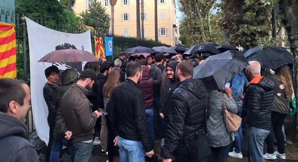 Catalogne : Rassemblements de soutien en Corse