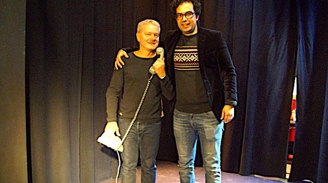 Lionel Buisson et Julien Santini dans une comédie hilarante